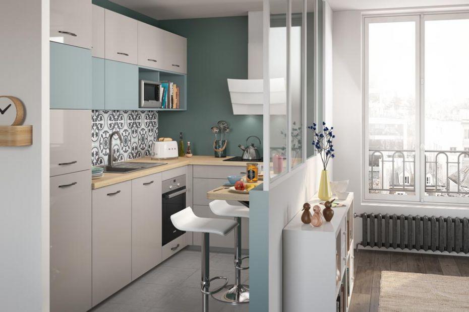 am nager une petite cuisine comment faire travaux de. Black Bedroom Furniture Sets. Home Design Ideas